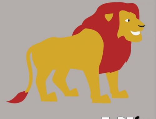 Lev talna dekoracija