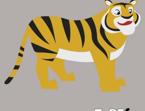 Tiger – talne dekoracije