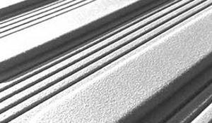 Blindenleitsystem aus Thermoplastichen Kunstoff rippen