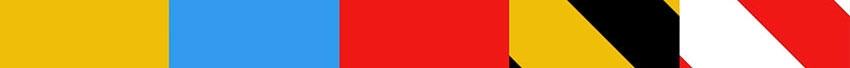 Absperrband verschiedene farben