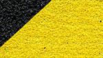 Anpassbares Anti Rutsch Klebeband Schwarz/gelb