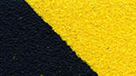 Anti Rutsch Platten L-förmig schwarz gelb