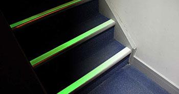 Nachleuchtendes Anti Rutsch Klebeband Treppe