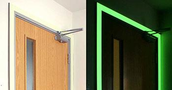 Hochwertiges Nachleuchtendes Klebeband Tür
