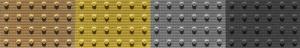 Blindenleitsystem Noppen farben