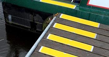 Standard Anti Rutsch Platten gelb